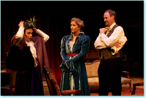 The Odyssey Theatre production of 'Hedda Gabler'