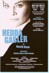 Dina Rosenmeier in the title role of 'Hedda Gabler'